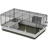 Ferplast Cage pour Lapins Krolik Large colori vert, 50 x 100 x 60 cm