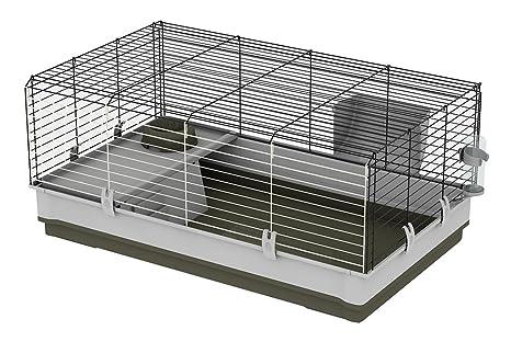 Feplast Jaula para Conejos y Conejillos de Indias Krolik Large ...