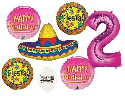 Amazon.com: Ultimate Sombrero Fiesta - Ramo de globos para ...