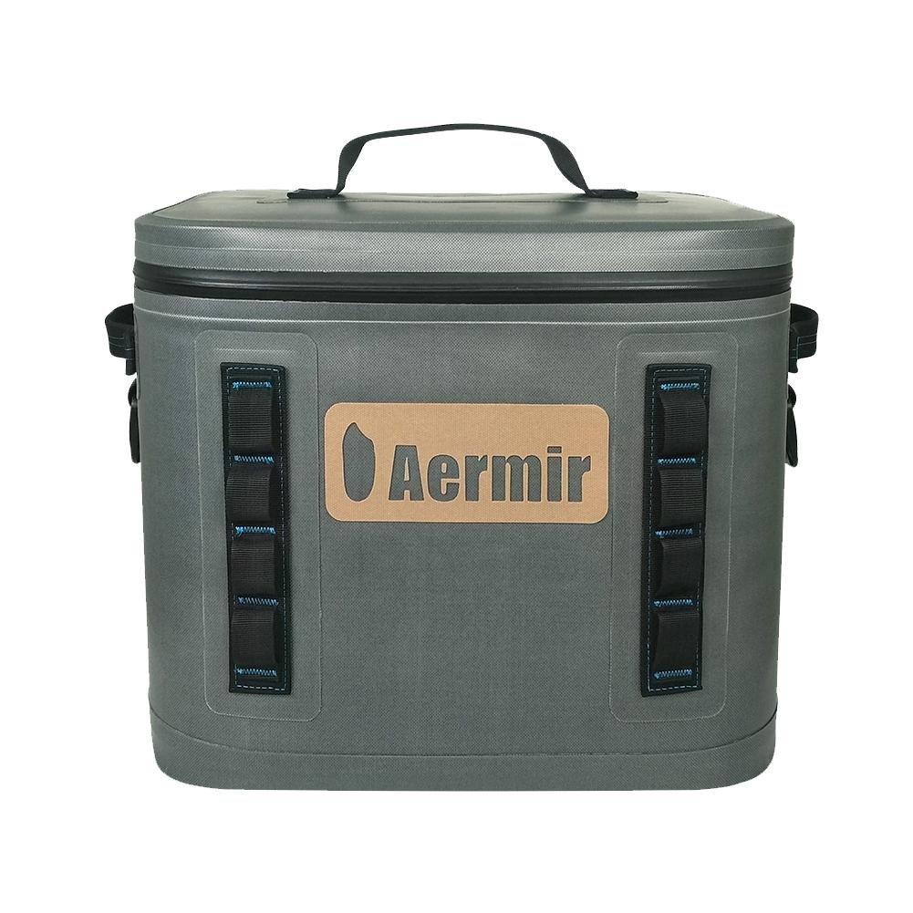 Aermir Auto-Isolierung Box, 19L Auto Isolierungs Taschen Kühltasche Wasserdichter Isolierseiten-Kühltasche für Das Wandern, kampierend