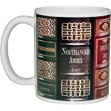Jane Austen Novel Books Coffee or Tea Mug