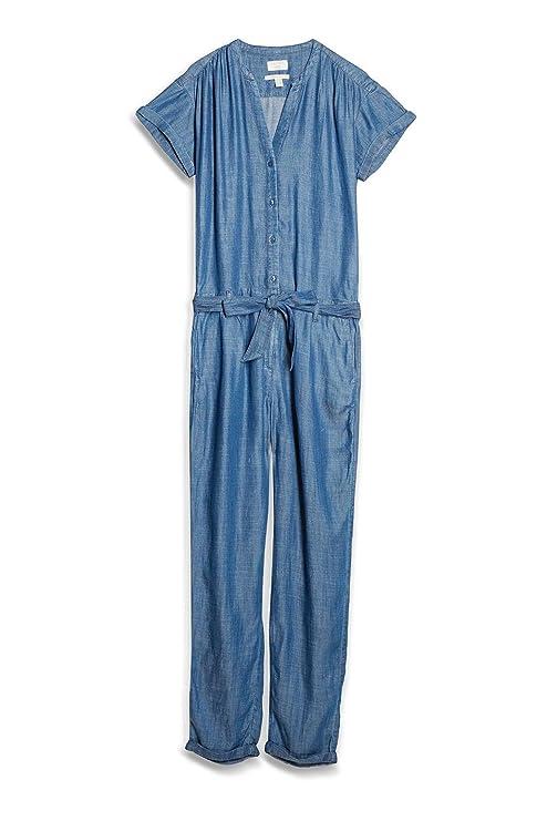 047ee1l001 Combinaison, (Blue Medium Wash), L30 (Taille Fabricant: 40) Femme