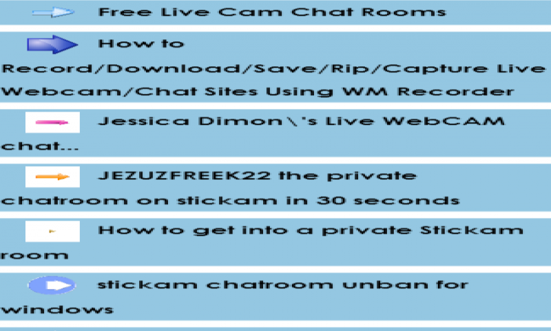 chat rooms with cams