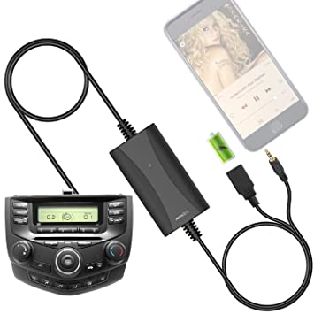 New Generation Car Stereo AUX Input Adapter APPSCar Auxiliary MP - 2005 acura tl aux input