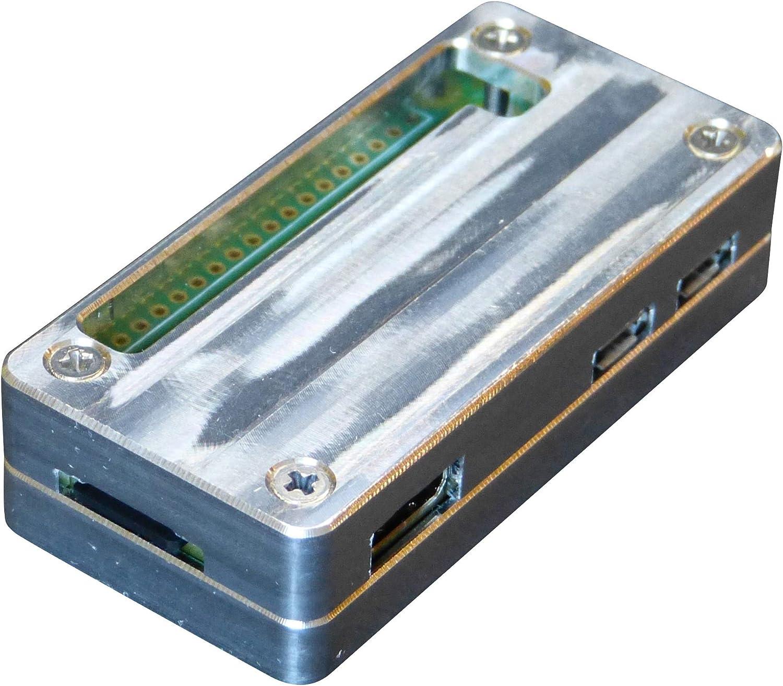 Manouii Raspberry Pi Zero W Gehäuse Alu Passive Kühlung Computer Zubehör