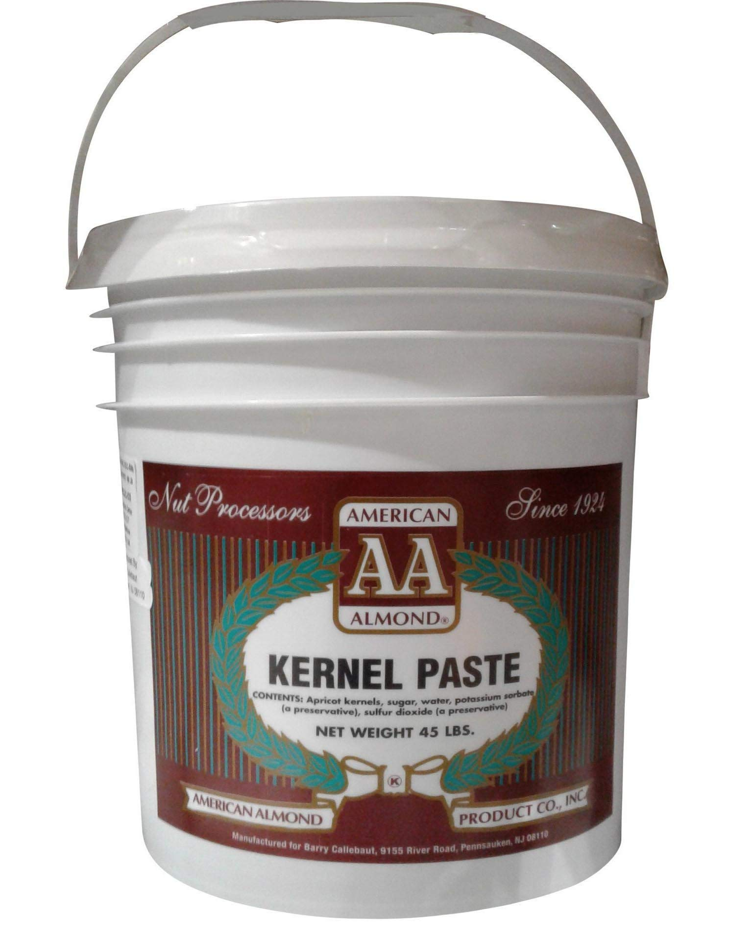 American Almond Kernel Paste - 45 lb Tub by American Almond (Image #1)