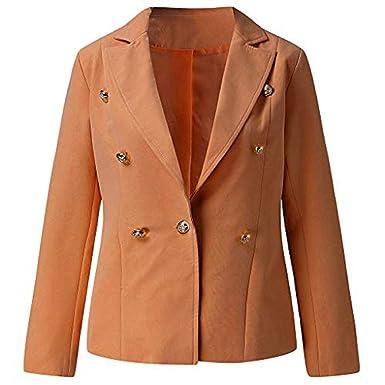 big sale c2333 a1806 Jaysis Giacca Blazer Donna Moda Nero Grigio Chic Elegante ...