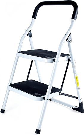 Sin Marca 8041763 - Escalera antideslizante de 2 peldaños: Amazon.es: Bricolaje y herramientas
