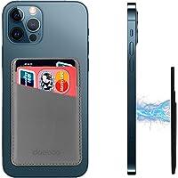 doeboe Skórzane etui na karty, kompatybilne z magnetycznym portfelem do iPhone 13 12 Pro Max/iPhone 13 12 Pro/iPhone 13…