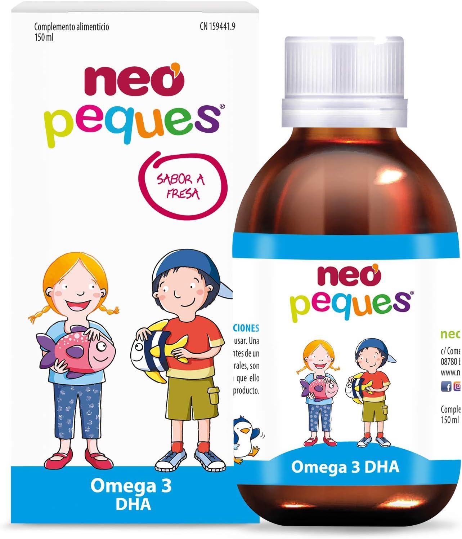 Neo Peques Jarabe Infantil Omega3 - 150 ml: Amazon.es: Salud y cuidado personal