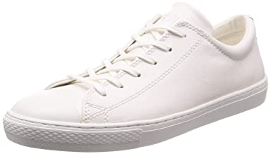 All-Star Coupe Leather Ox: White