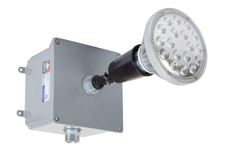 2500 Lumens 480V AC 1//2 Hub Waterproof 25 Watt LED Outdoor Spot//Flood Light