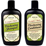Madre Labs Thickening Shampoo Bundle with Matching Conditioner. This Labs Shampoo Biotin B-Complex Hair Care System is Power Packed and Nutrient Rich with a Citrus Squeeze.