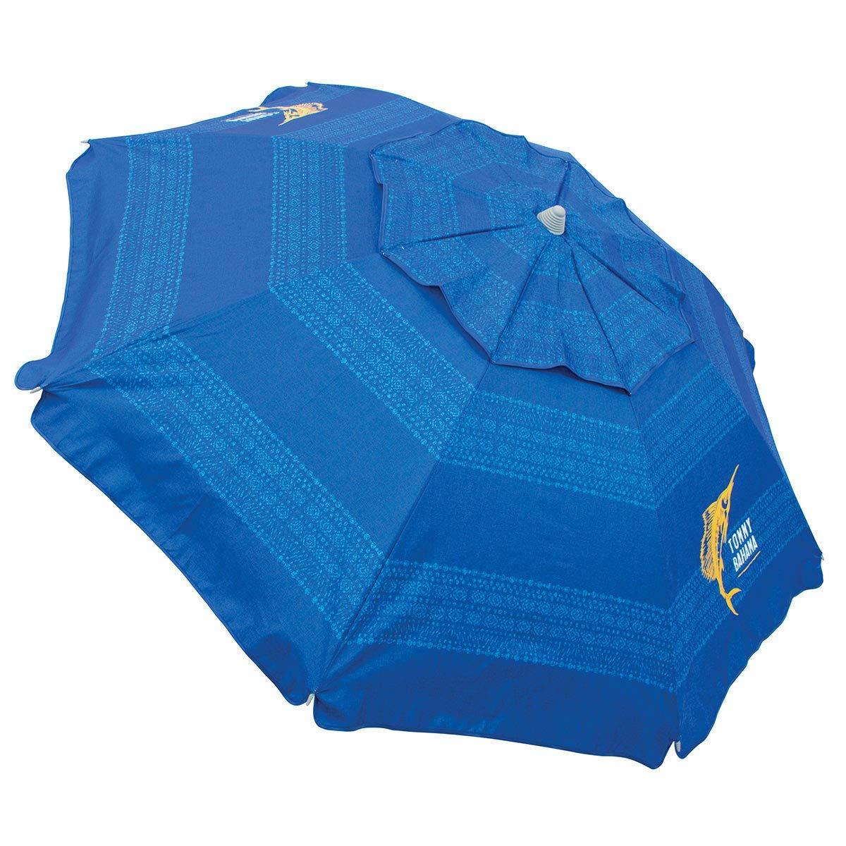 Tommy Bahama Parapluie de Plage 2019 Bleu