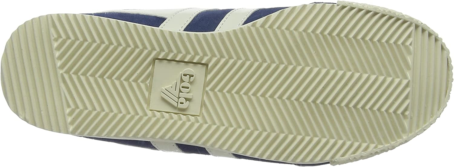 Gola Women's Low-Top Sneakers Blue Baltic Off White White