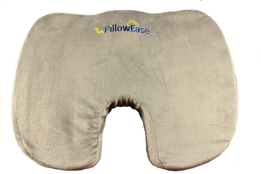amazoncom pillowease firm seat cushion car seat cushion chair cushion sciatica cushion prostate cushion hemorrhoid cushion low back pain