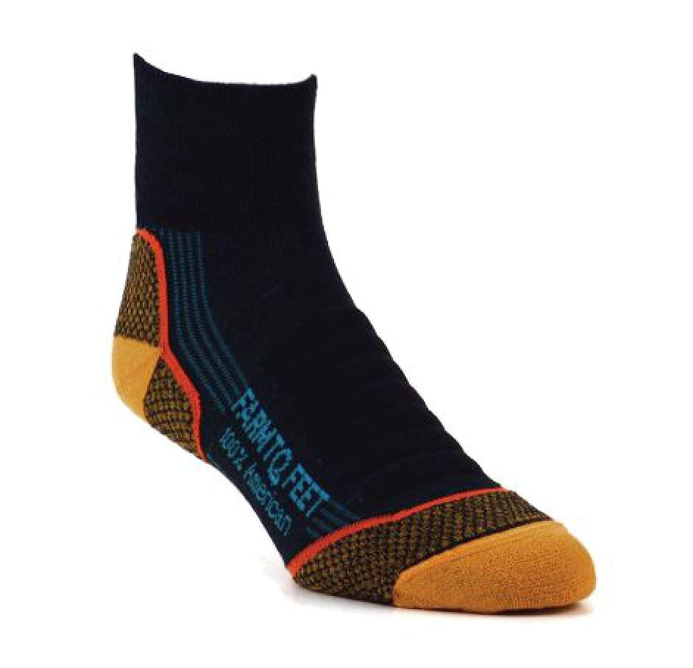 Farm To Feet Mens Damascus Quarter Lightweight Sock 3 pairs