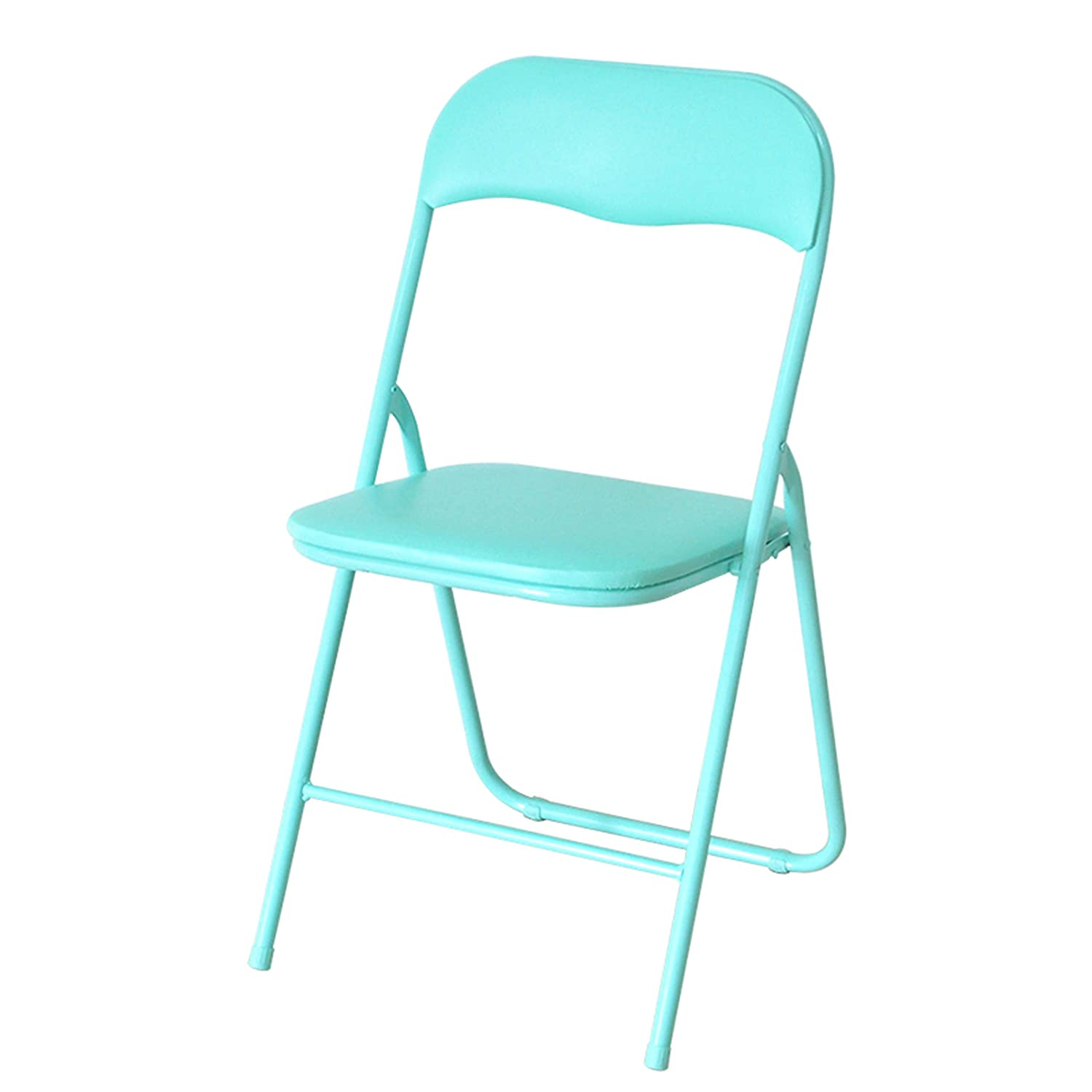 E Fold Chair, Portable Backrest Chair Plastic Household Dining Chair Office Chair Conference Chair Training Chair Student Chair Metal Chair,a