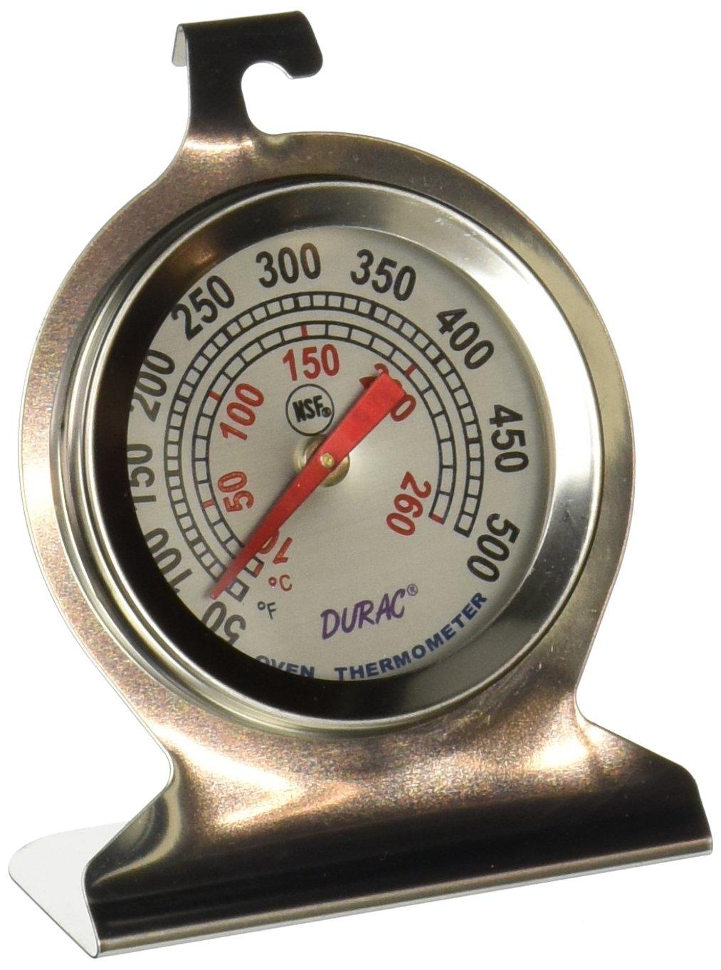 H-B DURAC Bi-Metallic Oven Thermometer; 10 to 260C (50 to 500F) (B61320-2000)