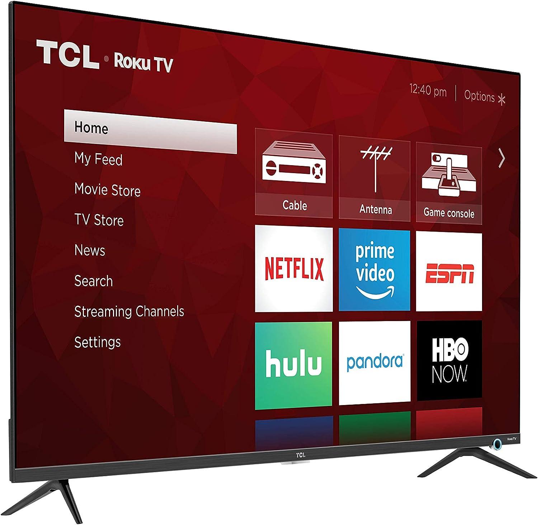 TCL Class 5-Series 4K UHD Dolby Vision HDR Roku Smart TV vídeo ...