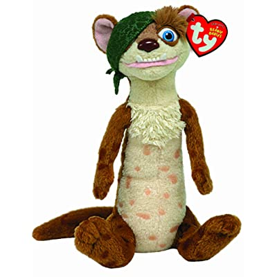 Ty Ice Age Beanie Babies Buck the Weasel: Toys & Games