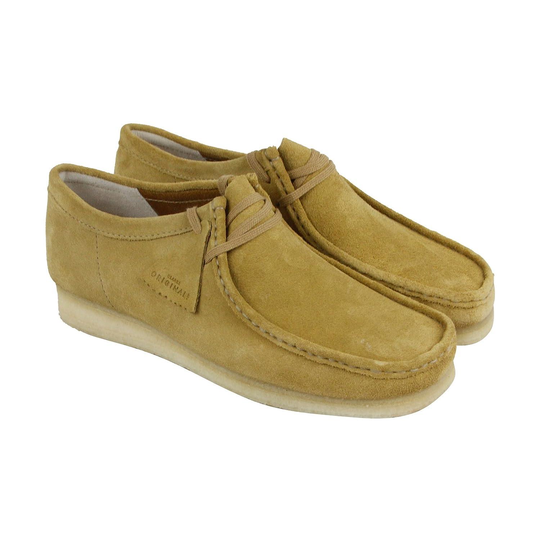 CLARKS Men's Wallabee Shoe B071JDCVLC 13 D(M) US|Dark Ochre Suede
