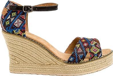 10fb9a7e9d4 Amazon.com: New Joy & Mario Footwear Women's Joy & Mario Erica Wedge ...