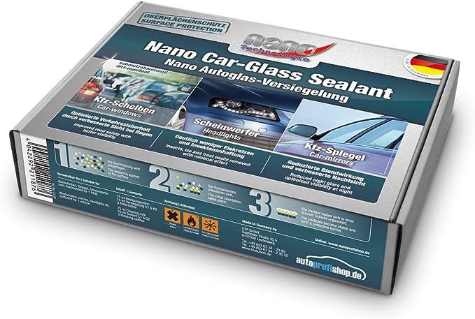 bluechem Nano Cristal sellador Juego Faros de Coche proteger revestimiento de ventana: Amazon.es: Coche y moto