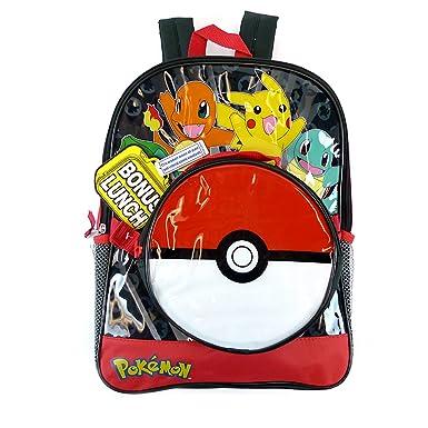 KIDS Pokemon  quot Pokeball quot  School Backpack with Disattachable ... 2b9e98c7de1c0