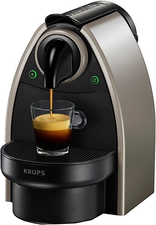 Nespresso Krups Essenza Xn214010 Cafetera de Espresso, Color Pardo 50 Cápsulas Compatibles Okaffe: Amazon.es: Hogar