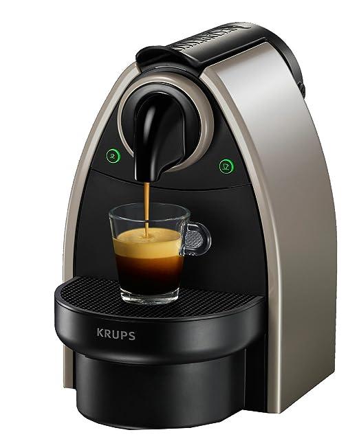 NESPRESSO Krups Essenza XN214010 cafetera de espresso, color pardo ...