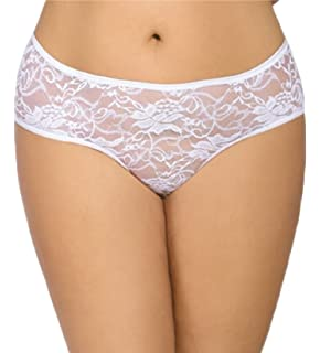 9ec44a56b74a Intimate Fantasies Sexy Crotchless White Lingerie Knickers Plus Size XL 12  14 16 18 20 22 Open…