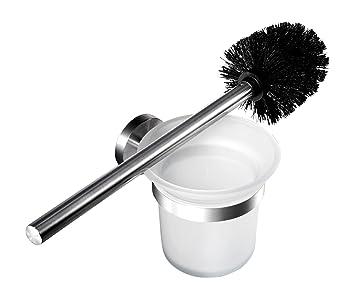 Relativ Ambrosya® | Exklusiver Toilettenbürstenhalter aus Edelstahl | Bad RL21