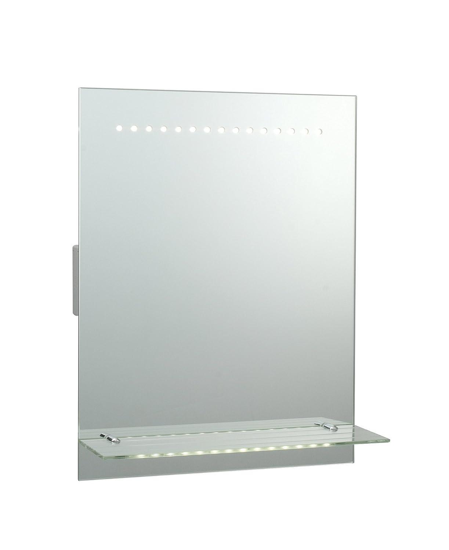 "Vicenza"" Miroir LED avec étag¨re Miroir Lumineux Evalué IP44"