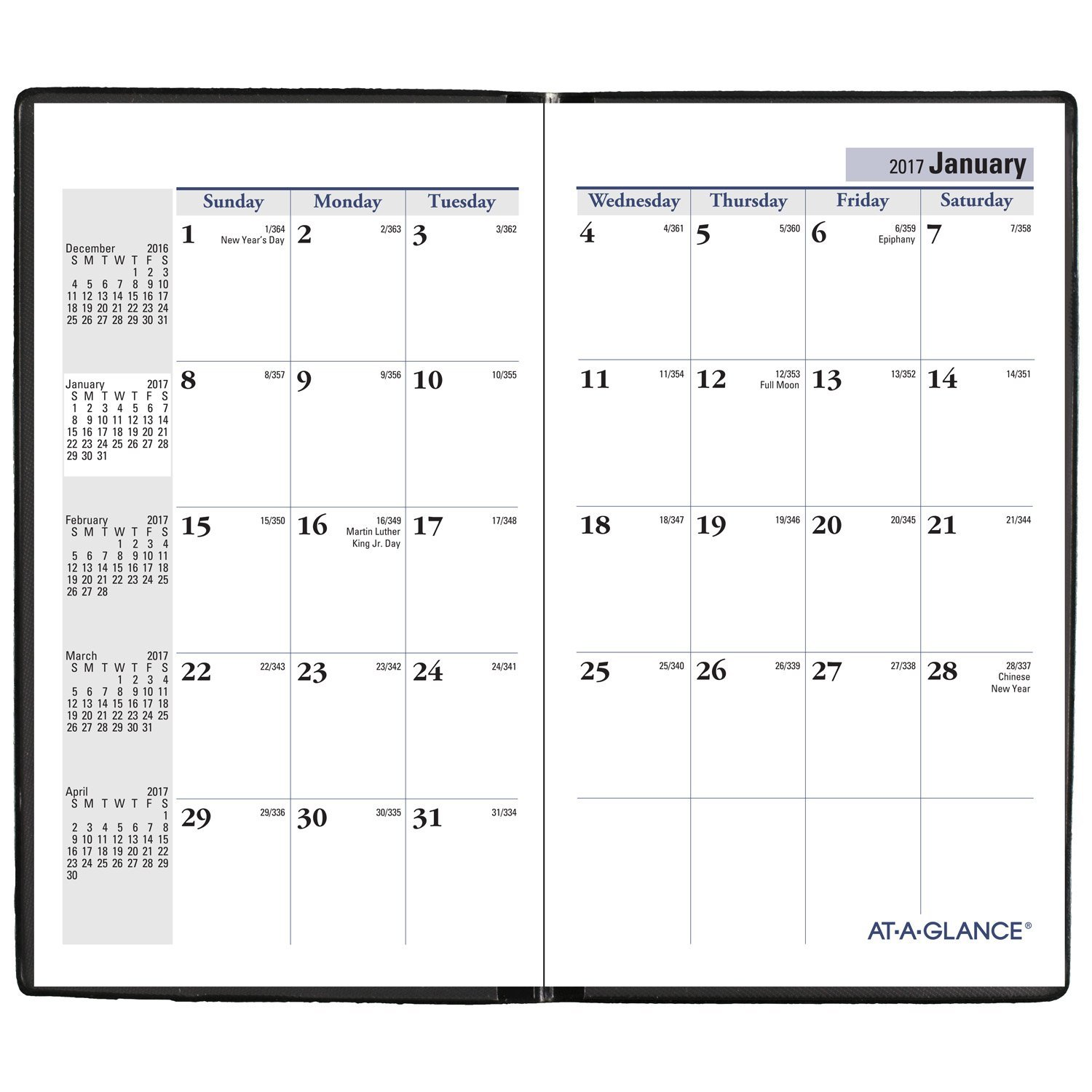 Amazon AT A GLANCE DayMinder Monthly Pocket Planner 2018