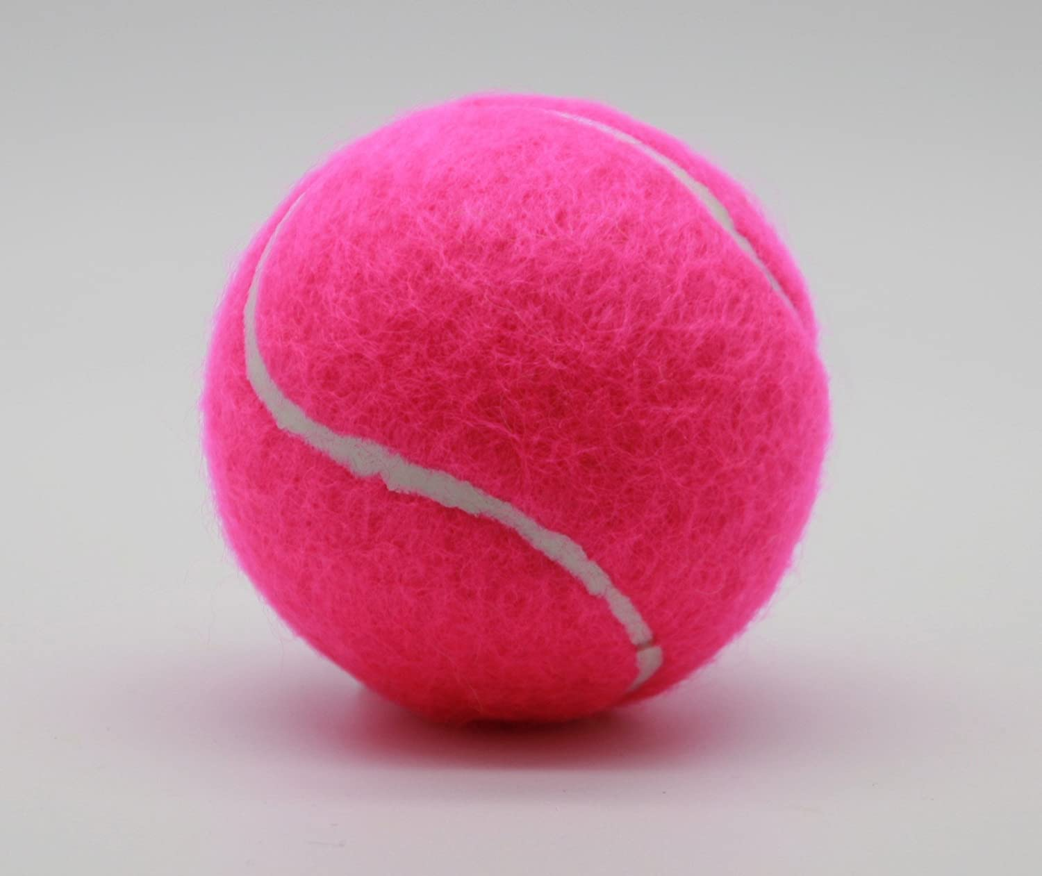 Personalized Tube of 3 Color Tennis Balls 1 x 3 Pink Balls Hand Finished Quality Tennis Balls Made in The UK by Price of Bath