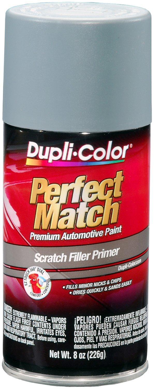Dupli-Color (BPR0031-6 PK Gray Perfect Match Scratch Filler Primer - 8 oz. Aerosol, (Case of 6)