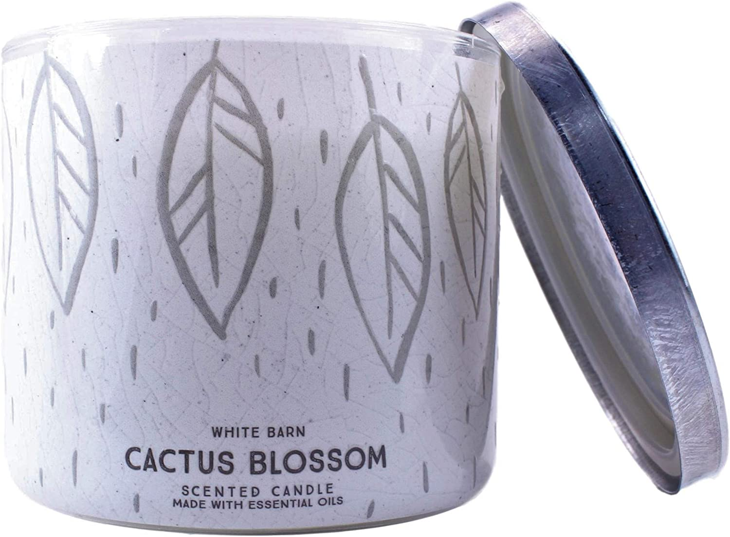 White Barn Bath and Body Works Cactus Blossom 3 Wick Scented Candle 14.5 Ounce