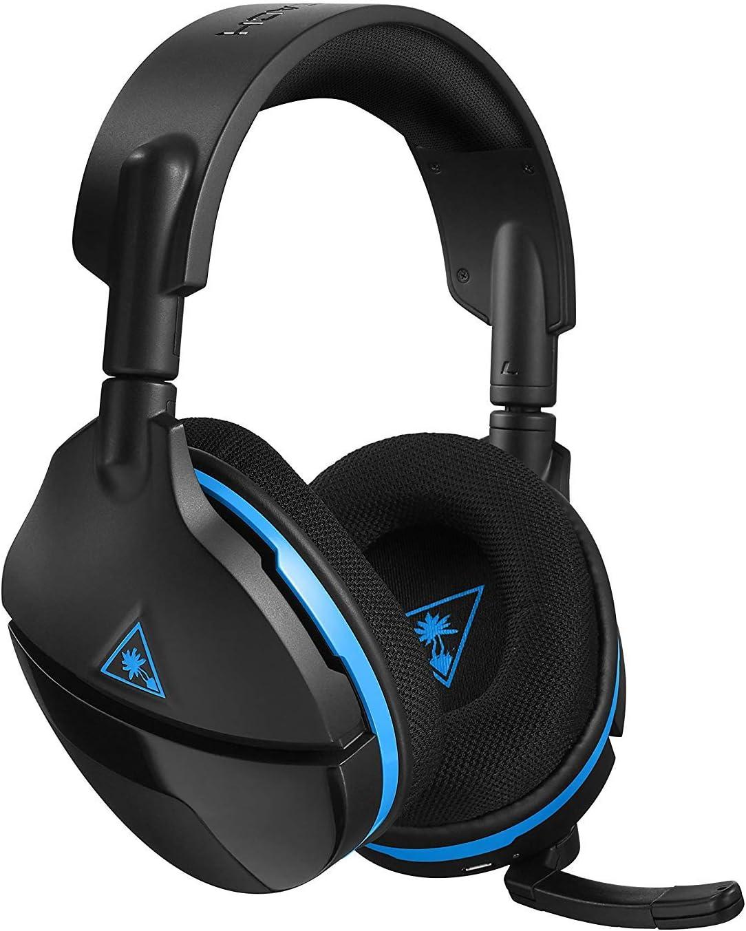 Turtle Beach Stealth 600 - Auriculares gaming con Sonido Envolvente Inalámbricos para PS4