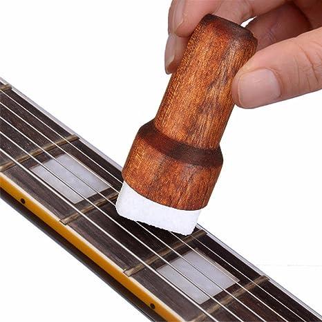 Limpiador de cuerdas para guitarra Fast Fret, lubricante para ...