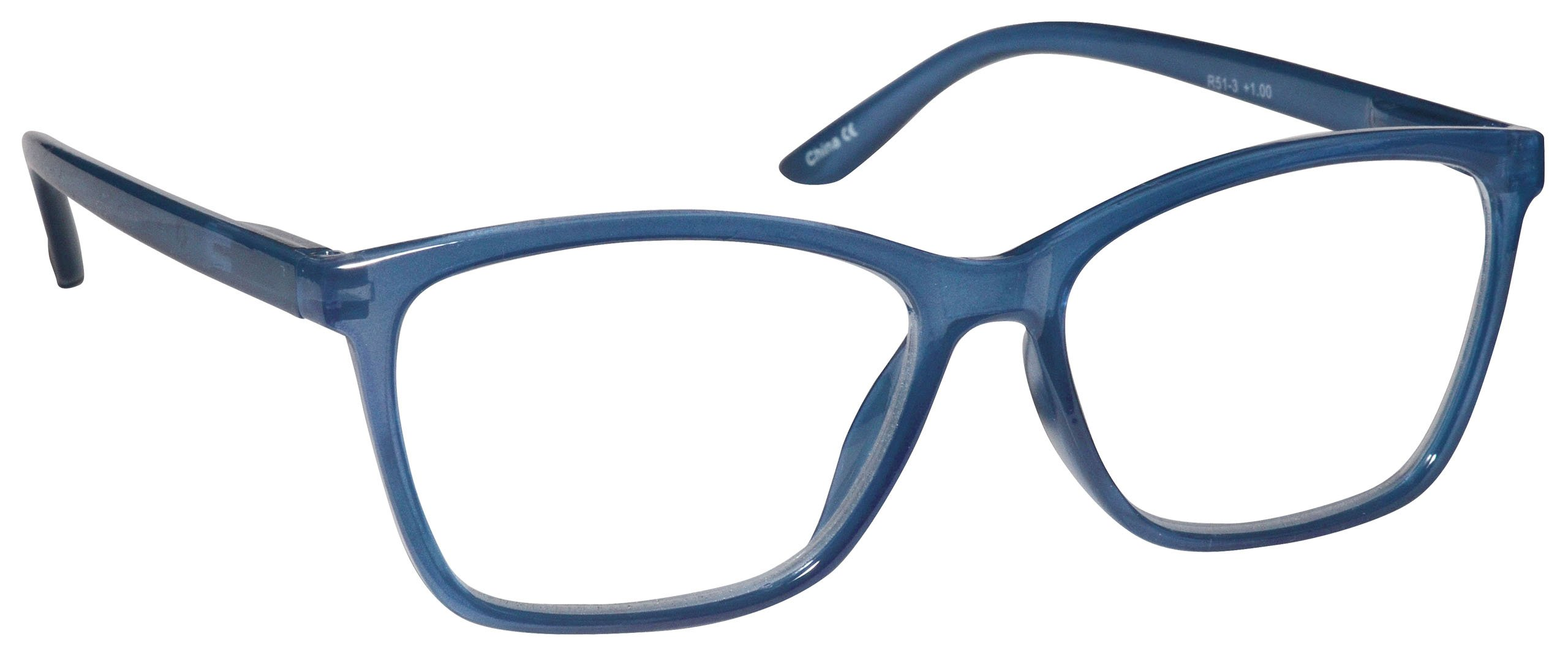 c645a815ac6 The Reading Glasses Company Bright Blue Readers Large Designer Style Mens  Spring Hinges R51-3