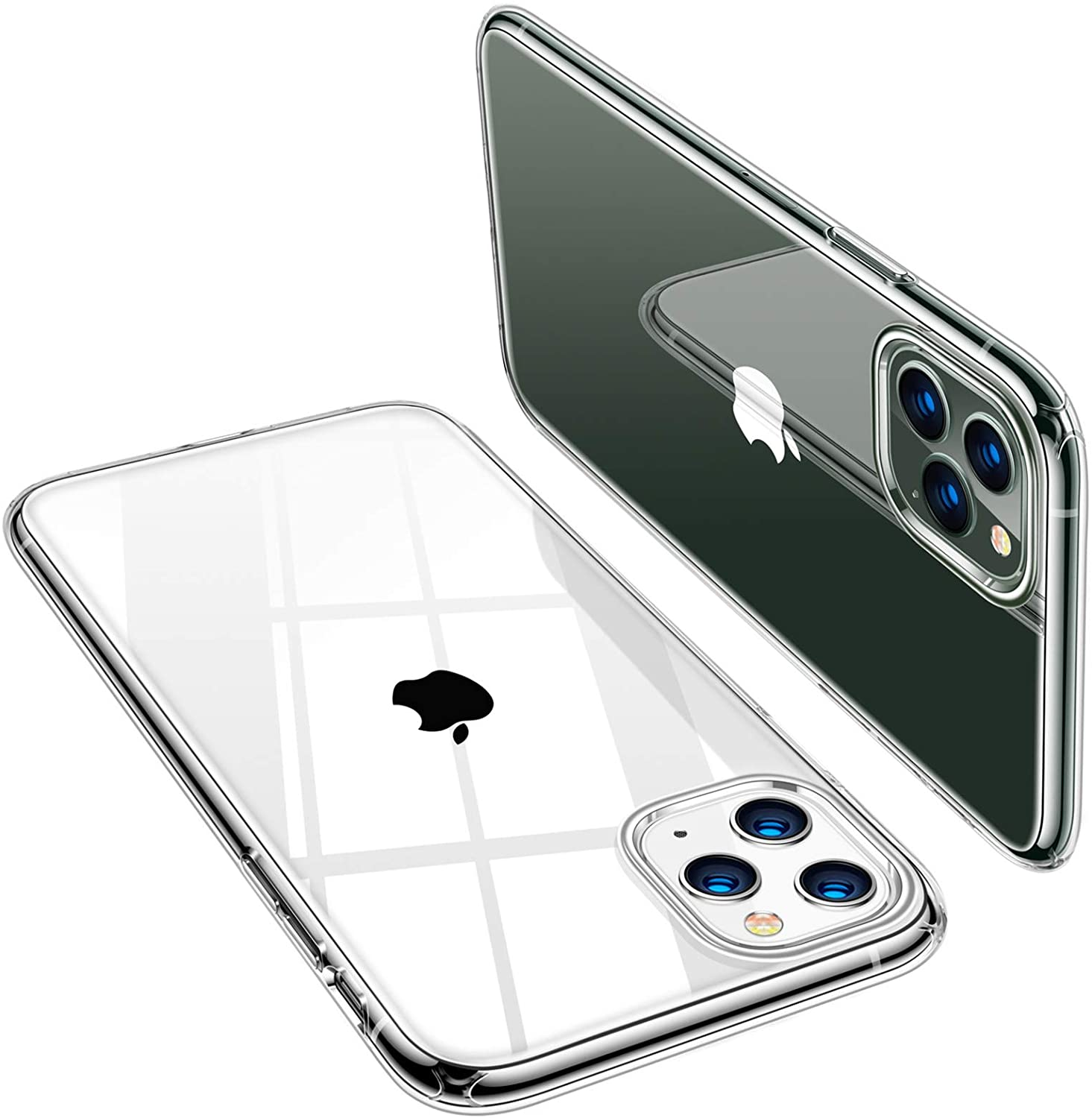 Torras Crystal Clear Compatible With Iphone 11 Pro Case Elektronik