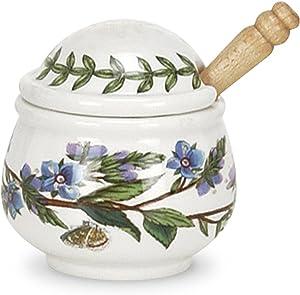 Portmeirion Botanic Garden Condiment Pot with Spoon