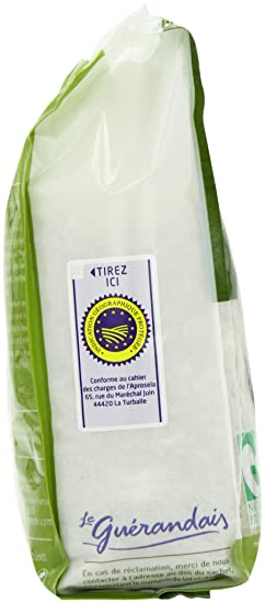 Le Guerandais Coarse Sea Salt In Bag 1 Kg (Pack of 3): Amazon.es: Alimentación y bebidas