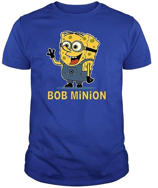 The Fan Tee Camiseta de Minions Bob Esponja Gru Hombre 58hxRRGbd9