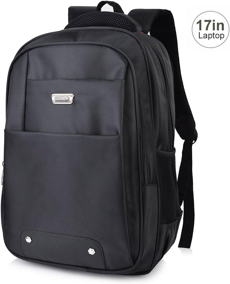 Vbiger Laptop Backpack For 17 Inch Laptops Large Capacity Business Water Resistant Computer Backpack For Men