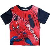 Spiderman T-Shirt Kollektion 2018 Shirt 98 104 110 116 122 128 134 140 Kurz Jungen Sommer Neu Marvel Ultimate Amazing Grau
