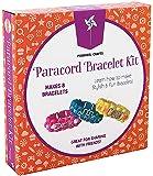 Pinwheel Crafts Paracord Charm Bracelet Making Set DIY Bracelets Kit for Girls, Teens & Children - Make Your Own…