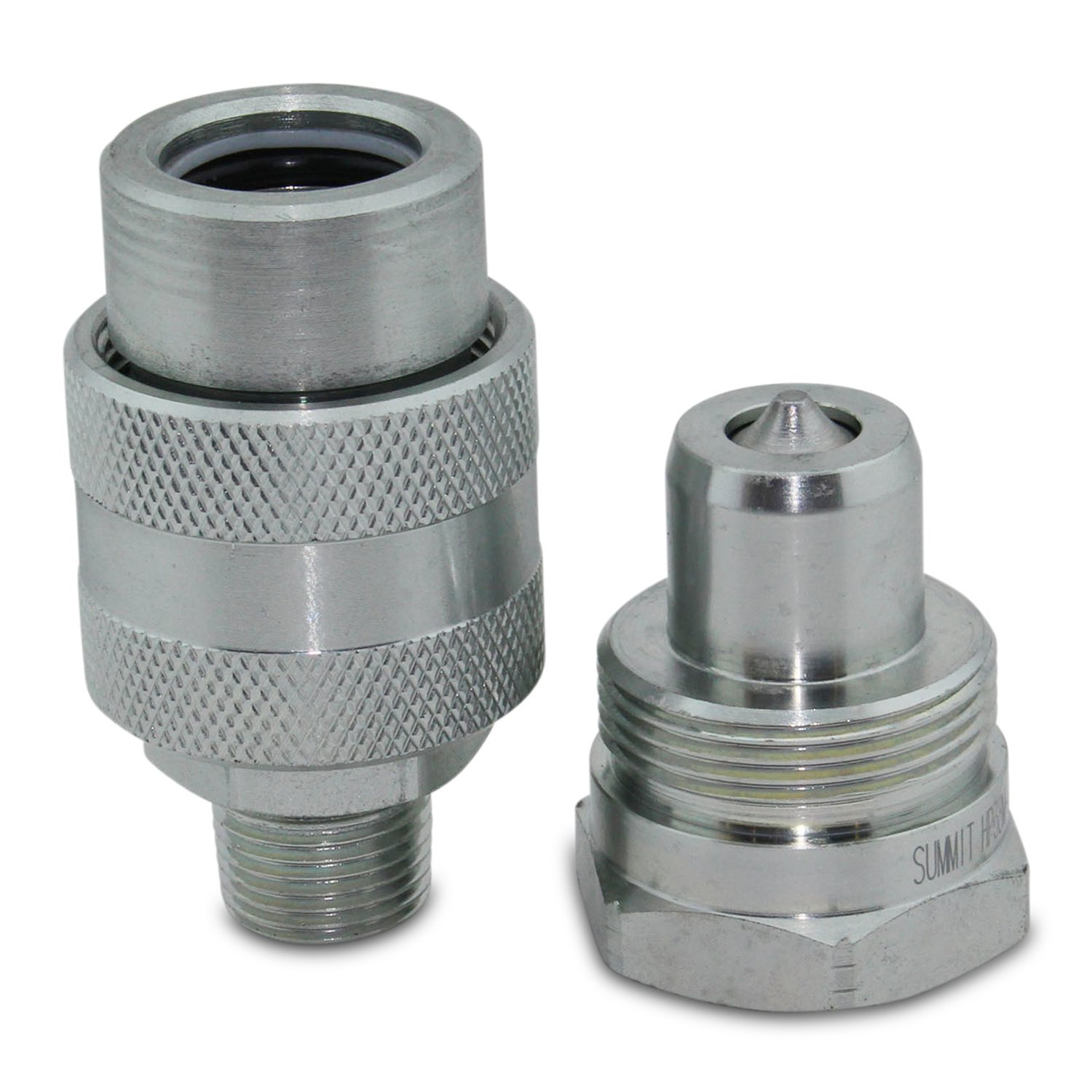 3/8'' 10,000 PSI High Pressure Hydraulic Quick Coupler Set Replaces Enerpac C-604