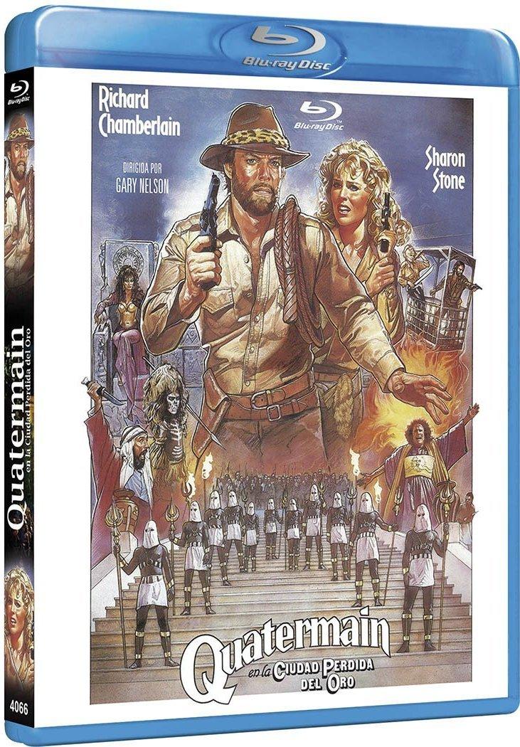 Quatermain en la Ciudad Perdida del Oro [Blu-ray]: Amazon.es ...